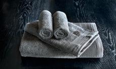 Luxury antrasitt handduksset