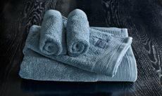 Luxury blått håndklesett