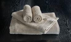 Luxury beige håndklesett