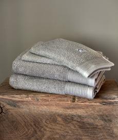 Luxury handduksset ljusgrå