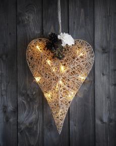 Sparkling Christmas hjerte