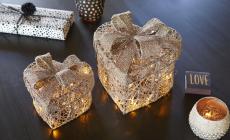 Sparkling Christmas hjerteboks sett à 2